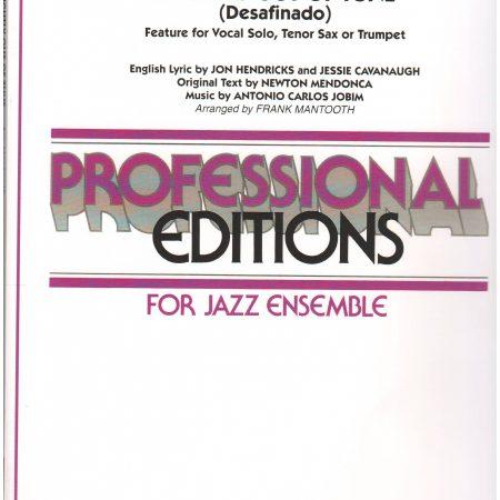 2 Alto Saxophones (opt  flute in lead), 2 Tenor Saxophones
