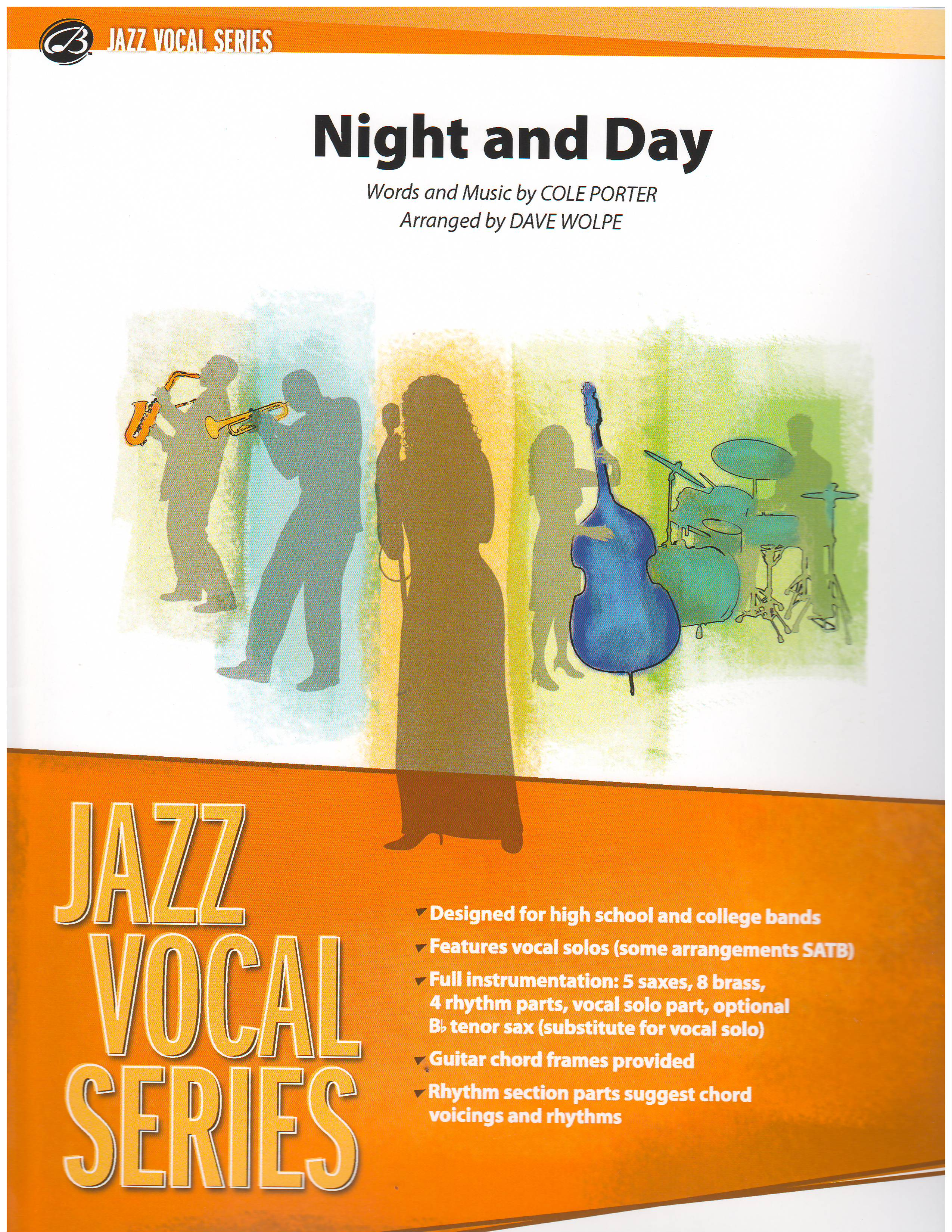 Night And Day Vocal Solo With Big Band Vocal With Big Band