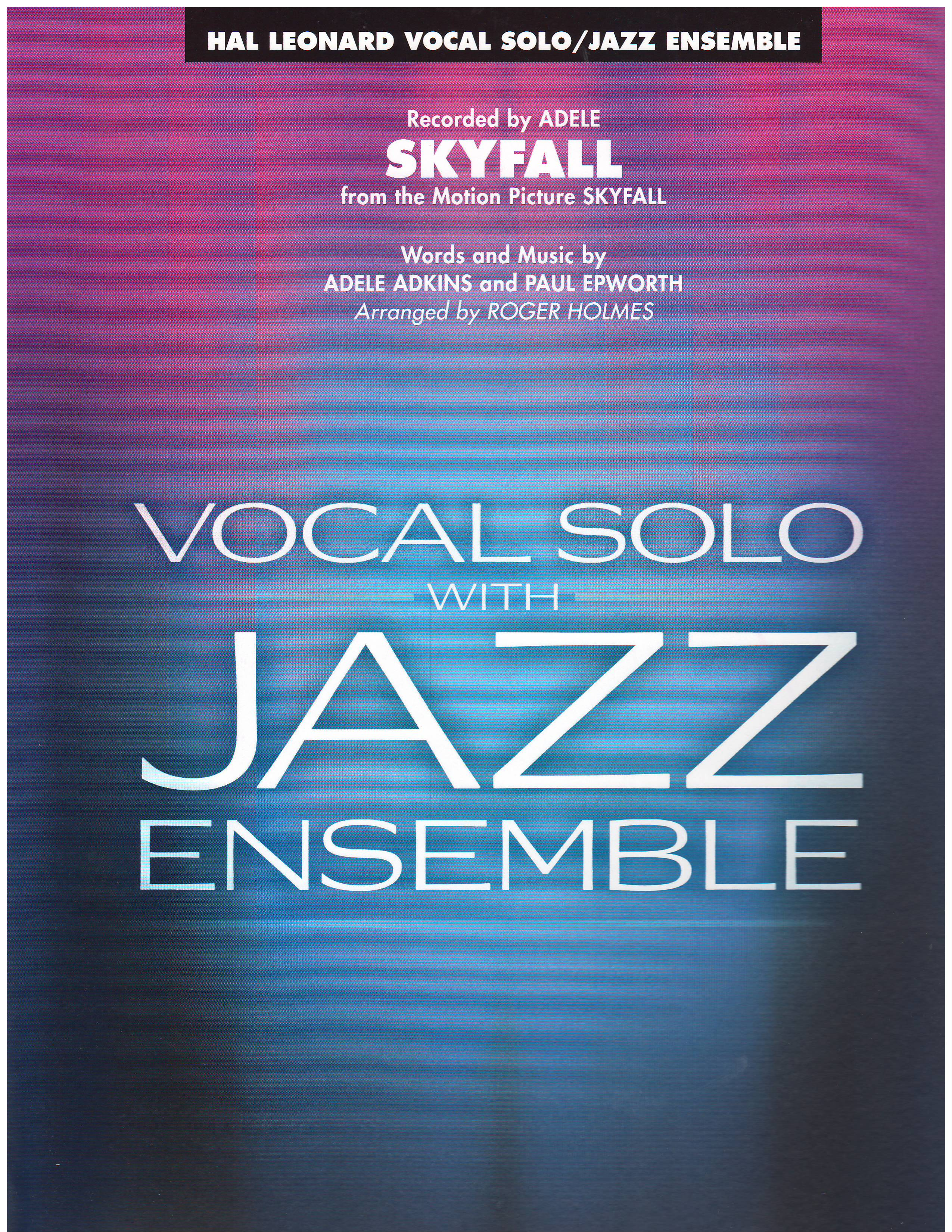 SKYFALL - By Category, Vocal Solo with Big Band, Vocal with