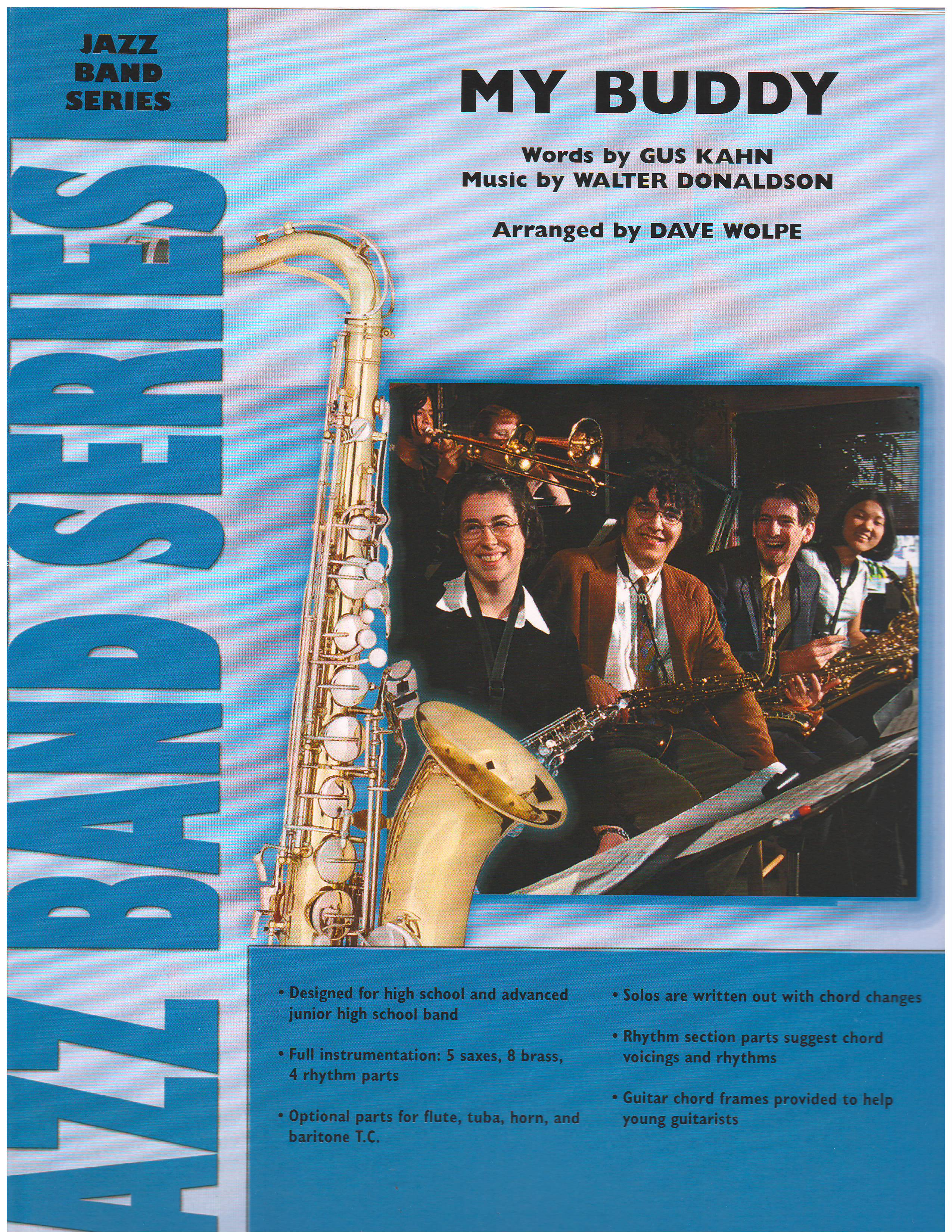 My buddy jazz classics jazz ensemble big band marina music be the first to review my buddy cancel reply hexwebz Image collections
