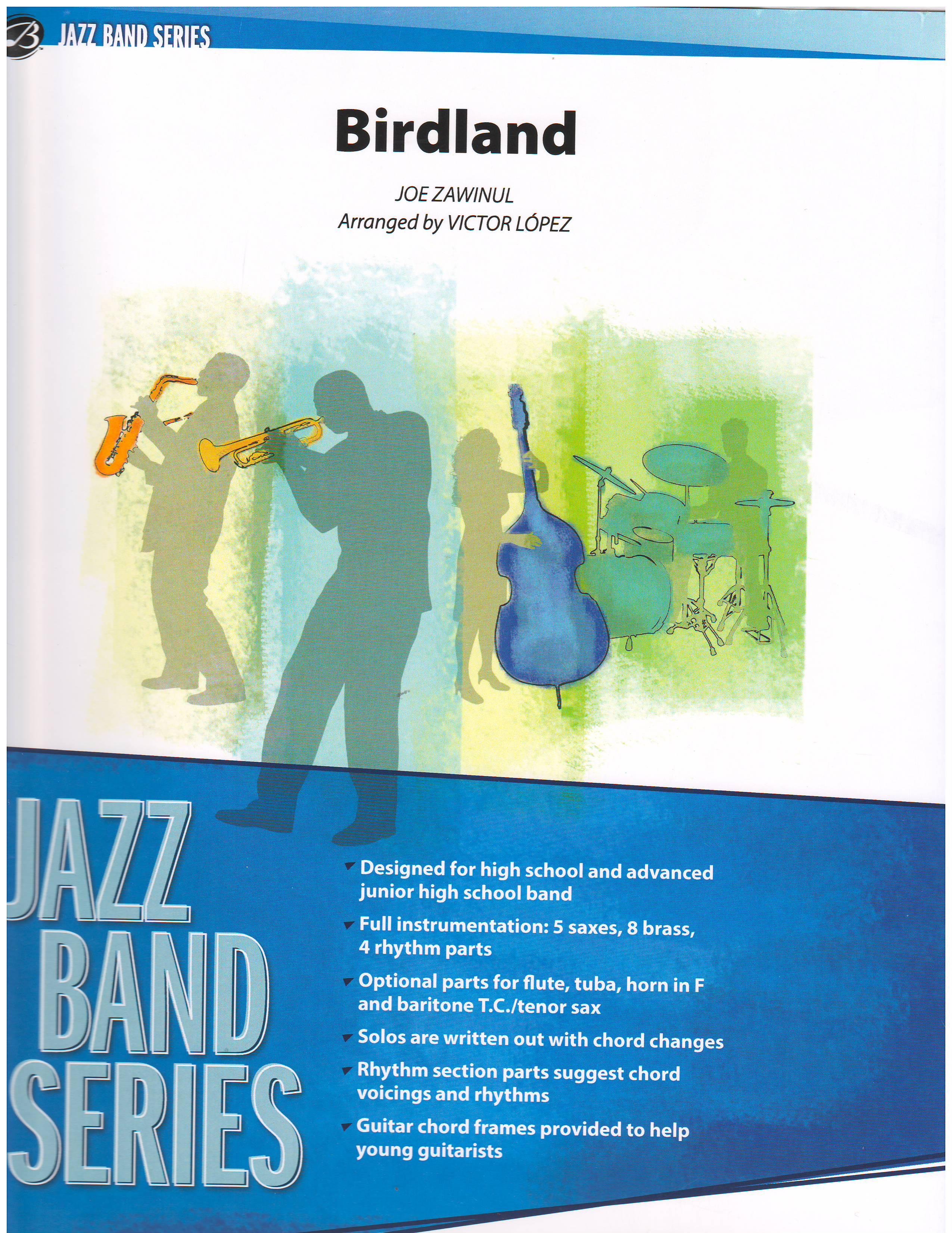 BIRDLAND - Jazz Classics, Jazz Ensemble (Big Band) - Marina Music
