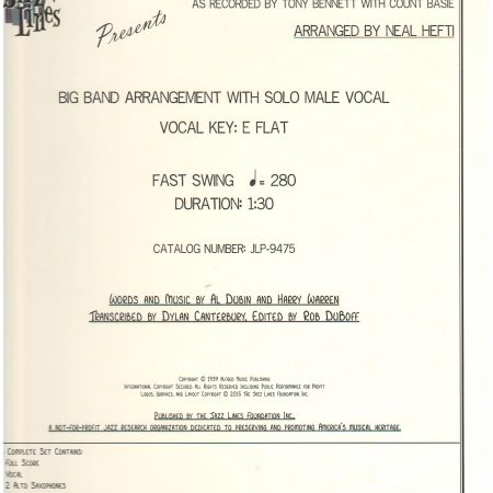 Jazz Lines Publications - 11/50 - Marina Music