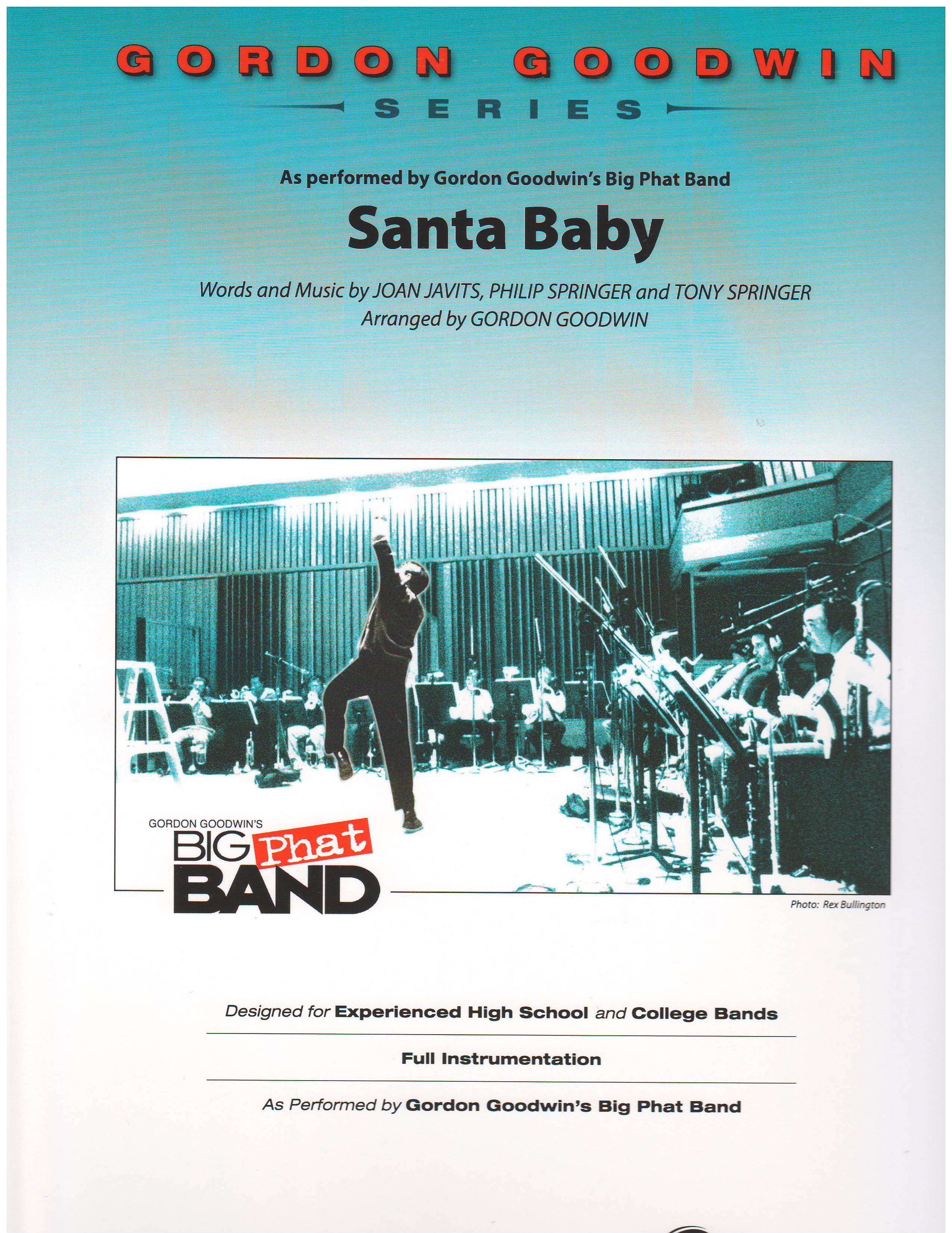 Santa Baby By Composer Performer Goodwin Gordon Holiday Music