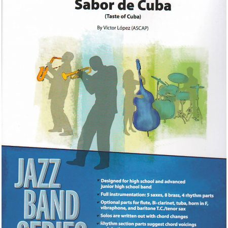 SABOR de CUBA (Taste of Cuba) - Jazz Ensemble (Big Band), Latin ...