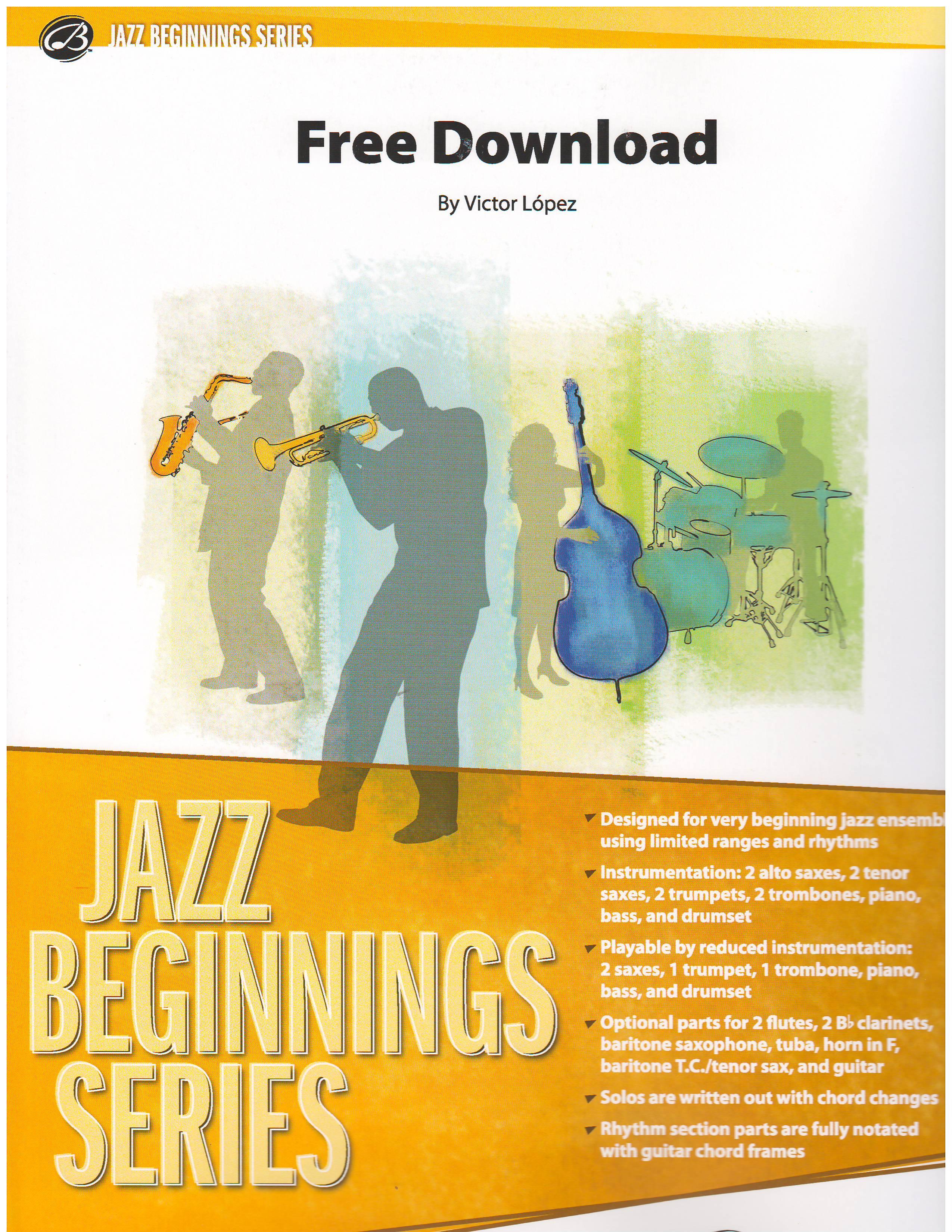 FREE DOWNLOAD - Jazz Ensemble (Big Band), Young Bands - Marina Music