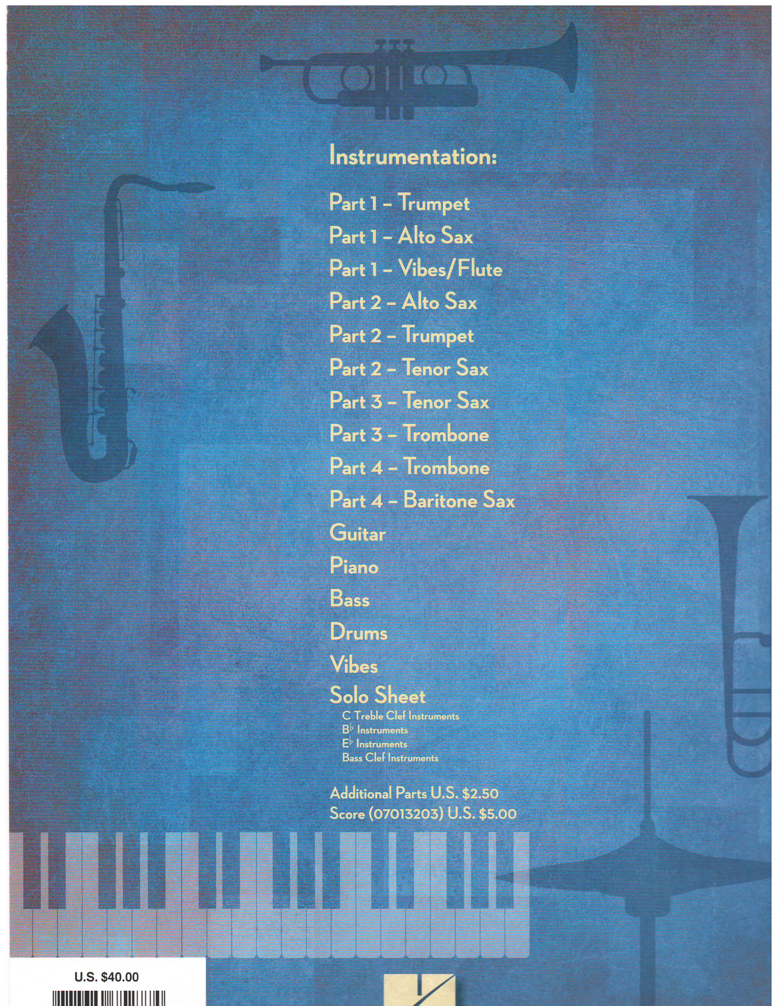 TENOR MADNESS - 4 Horn Combo, Jazz Combo / Small Ensembles